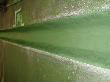 塗り床改修後